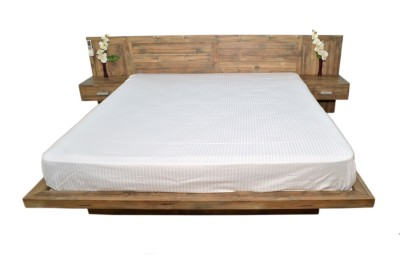 Zen Bed in Plank design